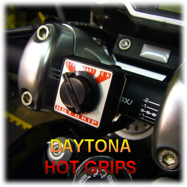 daytona hot grips 12v supply daytona hot grips are a high quality product and in my opinion far superior to similar products made by oxford before you can install these